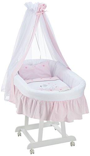 Easy Baby Stubenwagen rosé/weiß