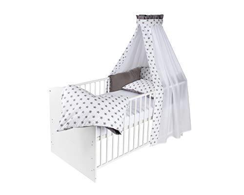 Schardt Gitterbett aus Holz weiß