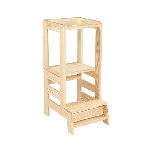Angelove Lernturm aus Holz
