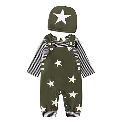T TALENTBABY Kleinkind Overalls Outfits Set, Neugeborenes Baby...
