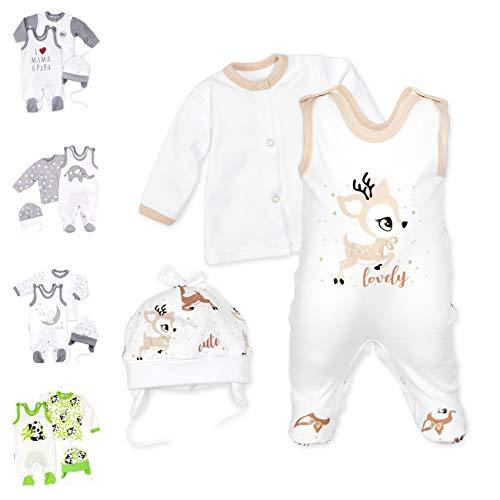 Baby Sweets 3er Baby-Set mit Strampler, Shirt & Mütze für...