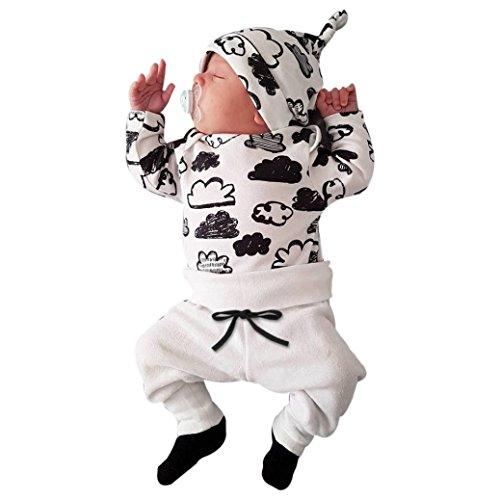 QinMM Babykleidung Satz, Neugeborenes Baby Mädchen Jungen...