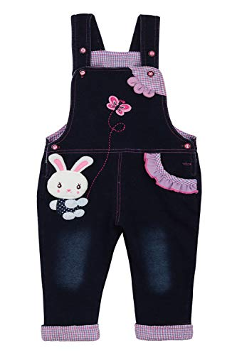 Camilife Latzhose Jeans Mädchen