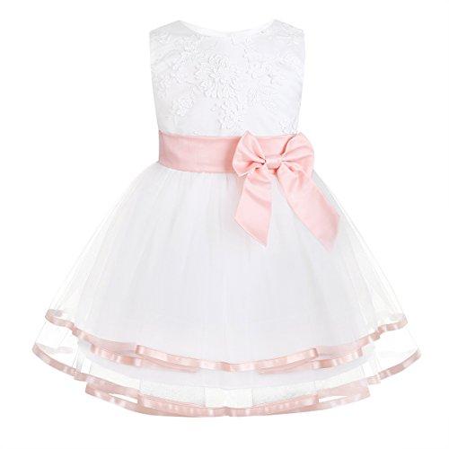 iixpin Babybekleidung Baby-Mädchen Prinzessin Kleid Festzug...