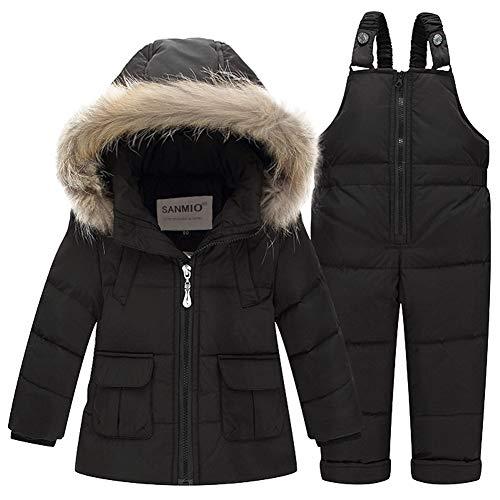 SANMIO Kids Baby Toddler Winter Snowsuit Polka Dot Puffer Jacket...