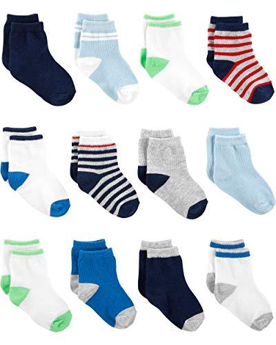 Simple Joys by Carter's Baby-Jungen Socken, 12er-Pack