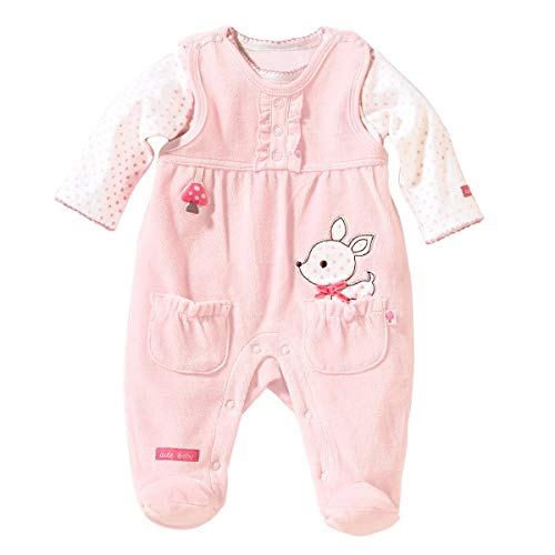 Bornino Strampler-Set REH (2-TLG) - Baby-Overall für Mädchen...