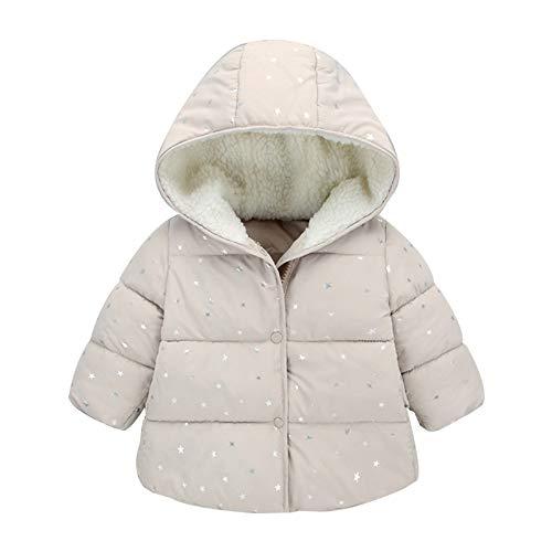 Luckyee Winterjacke für Jungen und Mädchen,0-5 Jahre Kinder...