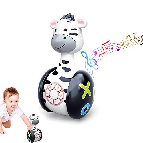 GoHist Baby Spielzeug Tumbler Musikspielzeug, Stehaufmännchen...