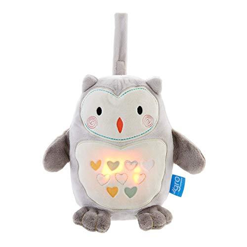 Grofriend Licht und Sound, Ollie the Owl grau