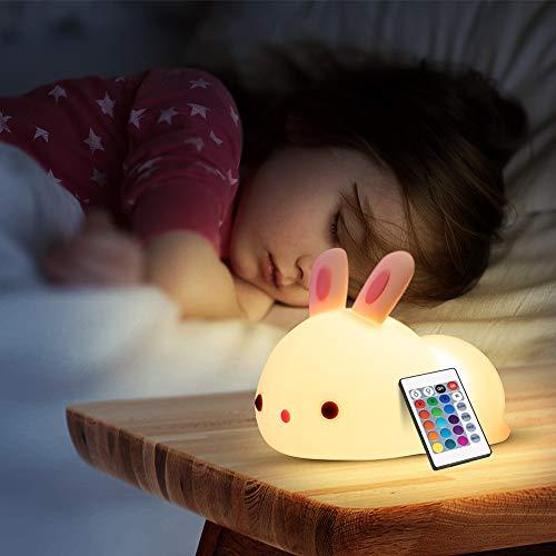 LED Nachtlicht Kinder Kaninchen
