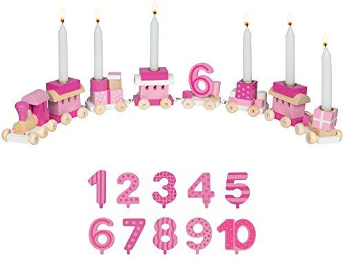 Bambilino Geburtstagszug in rosa