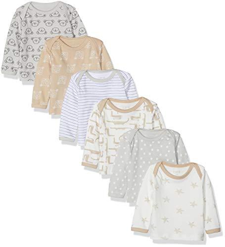 Care Baby Jungen Langarmshirt 6er Pack