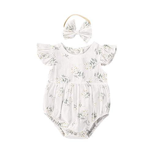 YQYJA Kleidung Set, neugeborenes Baby, Mädchen, Rüschen, ohne...