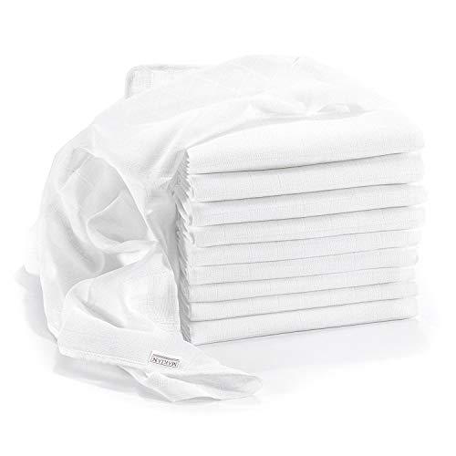 MAKIAN Spucktücher weiß 10 Stück