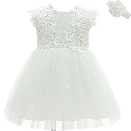 AHAHA Baby Mädchen Prinzessin Kleid Blumenmädchenkleid...