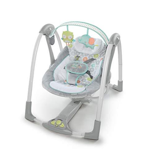 Zusammenklappbare Babyschaukel mit 5 Geschwindigkeiten