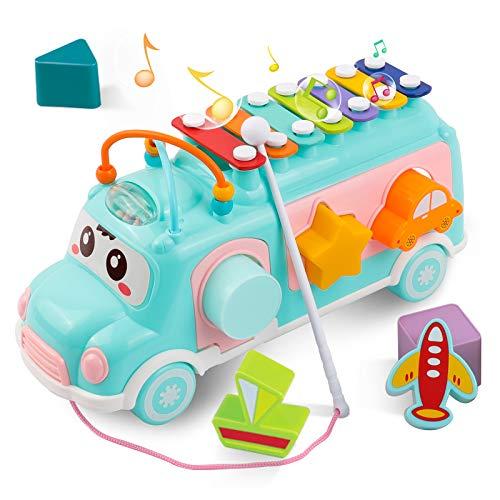DeeXop Babyspielzeug 12-18 Monate+ Aktivität Würfel Spielzeug...
