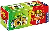 KOSMOS 697365 - Soundwürfel Bauernhof, Lernspielzeug mit...