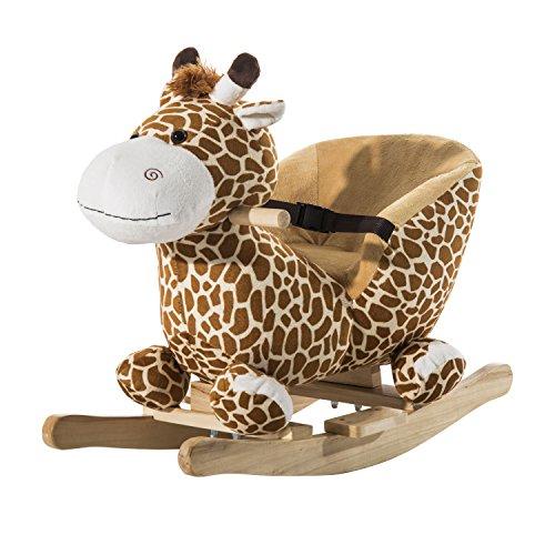 Schaukeltier Giraffe mit Musik