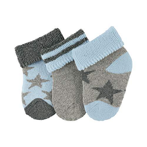 Sterntaler Unisex Baby Socken Erstlingssöck. Sterne, 3er-Pack