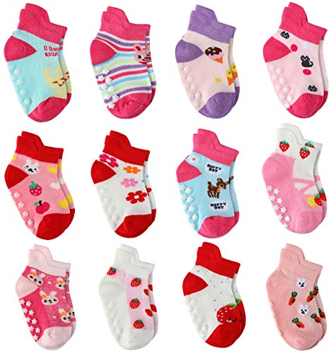 Cottock Babysocken Mädchen 12 Paar