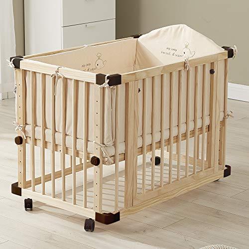Babybett aus Holz multifunktional