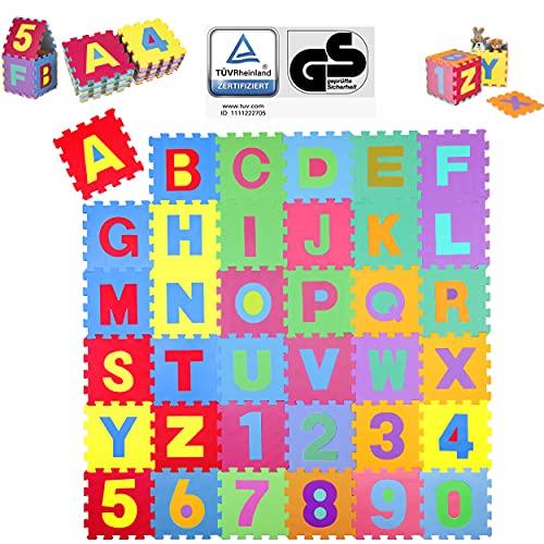 KIDUKU Puzzle Matte Buchstabenmotiv
