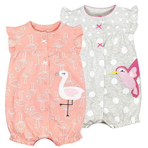 Minizone Overall Baby Mädchen 2er Pack