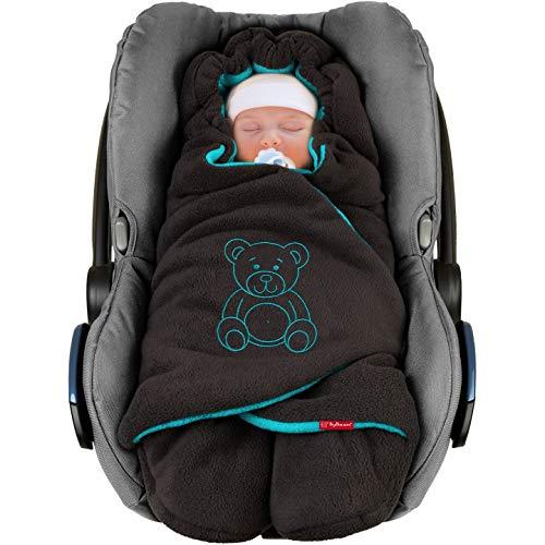 ByBoom Einschlagdecke Winter Babyschale