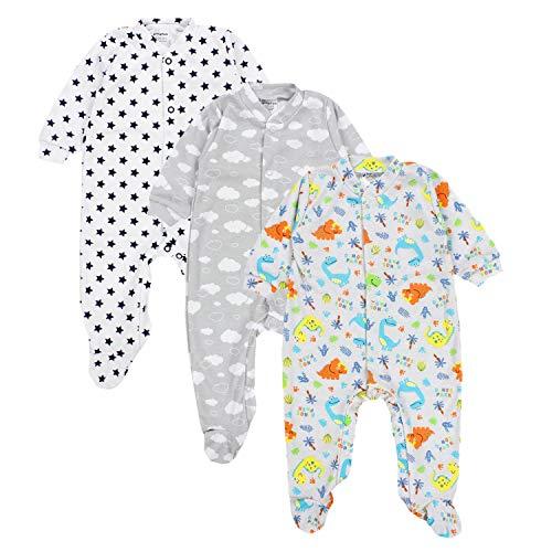 TupTam Baby Schlafstrampler Junge 3er Set