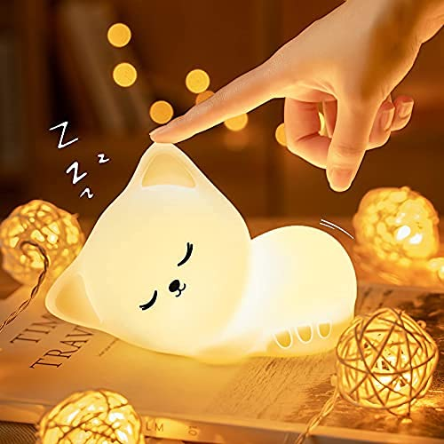 Kawaii Nachtlicht Kinder Katze