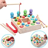Symiu Holzspielzeug Angelspiel Montessori Lernspielzeug...