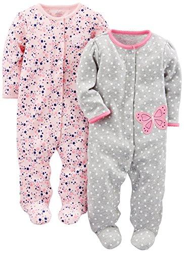 Simple Joys by Carter's Baby-Mädchen Schlaf-und Spielfuß,...