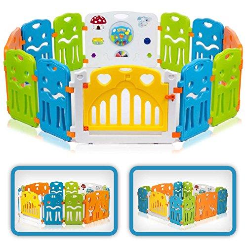 Baby Vivo Laufstall mit Spielzeug