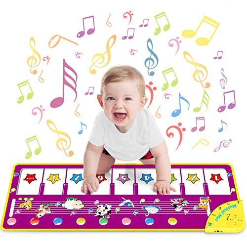 Baby Musikmatte mit Tiergeräuschen, Klaviertönen und Soundeffekten