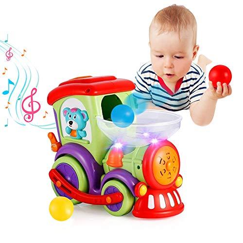 VATOS Baby Spielzeug Eisenbahn