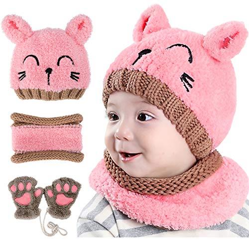 GIKPAL Wintermütze Baby Mädchen