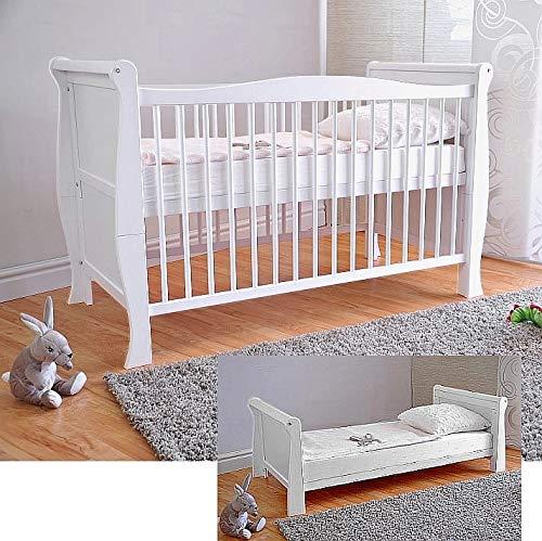 lullaby Gitterbett aus Holz weiß